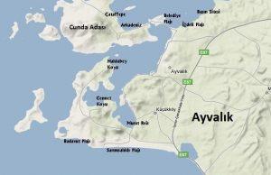 Ayvalık Map